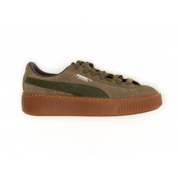 SUEDE MILITARY GREEN