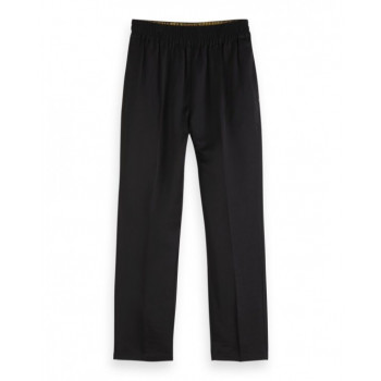 TAPERED PANTS IN VISCOSE...