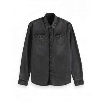 BLAUW DENIM SHIRT