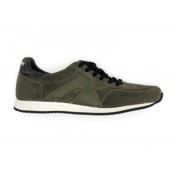 SUPER SUEDE GREEN BLACK