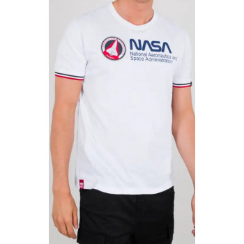 T-SHIRT NASA RETRO WHITE