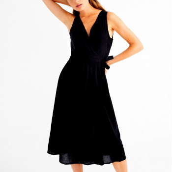 BLACK AMAPOLA DRESS