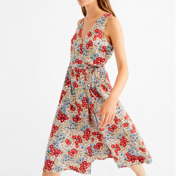 SMALL FLOWERS AMAPOLA DRESS