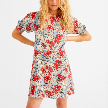 SMALL FLOWERS FLORETA DRESS