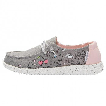 WENDY YOUTH DOODLE GREY