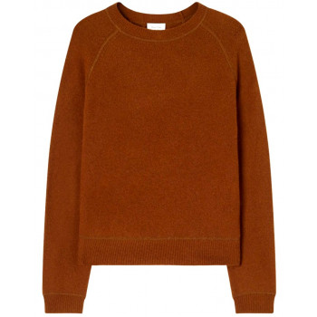 ROUND COLLAR LONG-SLEEVES...
