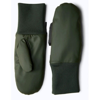 MITTENS PADDED GREEN