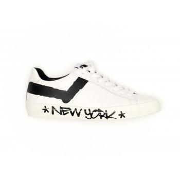 TOP STAR OX WHITE/BLACK